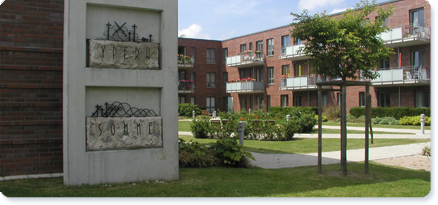 Accessible housing in the Weberkoppel